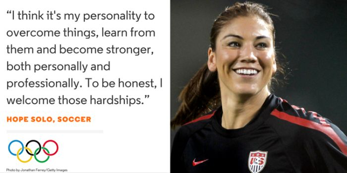 Words Of Wisdom From The USA Olympic Team (17 pics)