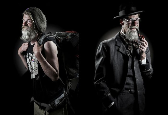 Photographer Helps Homeless People Step Into Their Dreams (13 pics)