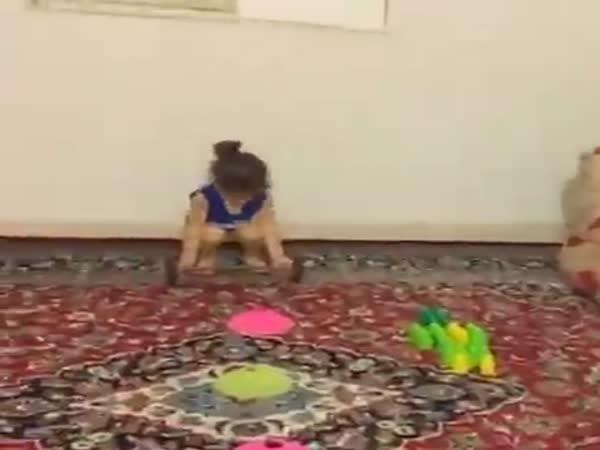 Little Girl Gymnastic