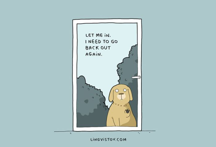 10 Illustrations That Will Make Perfect Sense To Every Dog Owner (11 pics)