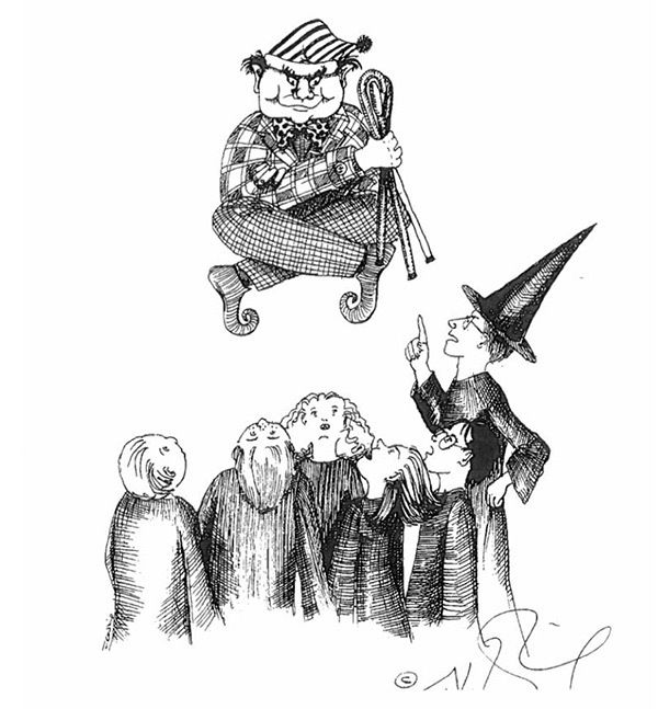 J.K Rowling Shares Unseen Personal Sketches Of Harry Potter (7 pics)