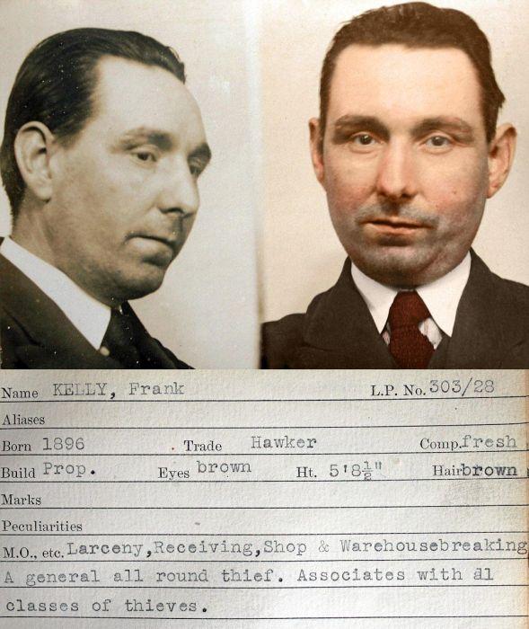 Vintage Photos Show The Old School Criminals Of Scotland Yard (11 pics)