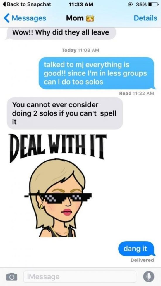 Mothers Who Have Awesome Text Messaging Skills (14 pics)