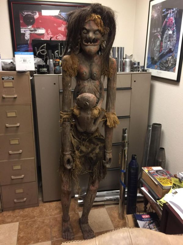 The Goddess Of Fertility Will Probably Give You Nightmares (3 pics)