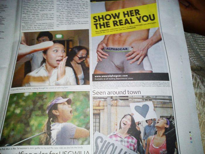 Horrifying Newspaper And Magazine Layout Fails (40 pics)