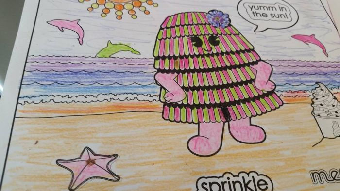 Coloring Book Images That Were Turned Into Something Hilariously Horrifying (25 pics)