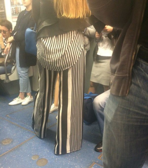 Stange Fashion Styles Spotted On The St. Petersburg Metro (38 pics)