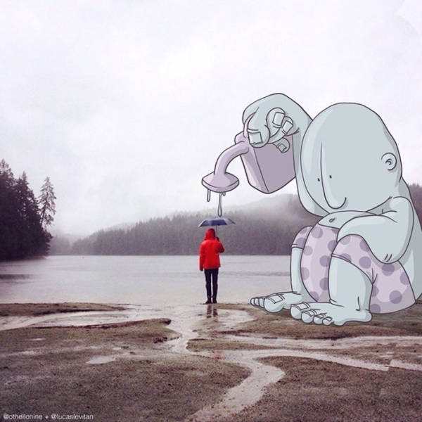 Illustrator Takes Instagram Photos To The Next Level With Awesome Modifications (40 pics)