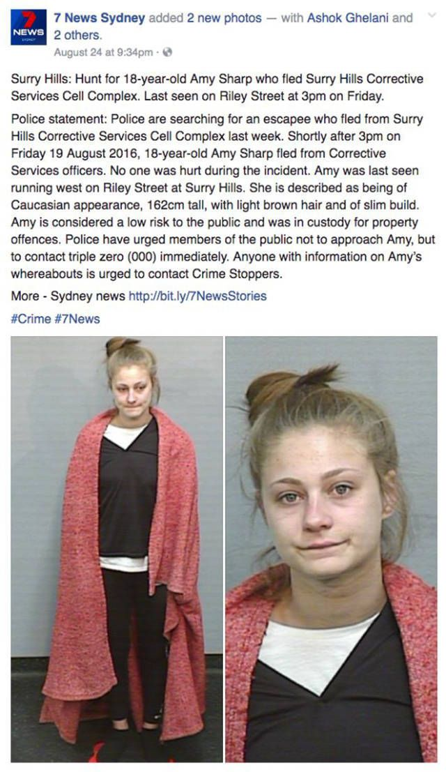 Wanted Fugitive Asks Police To Use A Better Looking Photo Of Her As A Mugshot (7 pics)