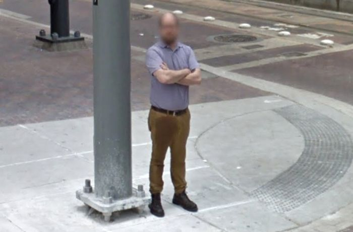 Houston Resident Caught Having A Bad Time On Google Street View (2 pics)
