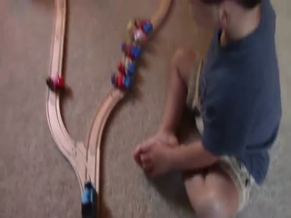 A Two Year Olds Solution To The Trolley Problem