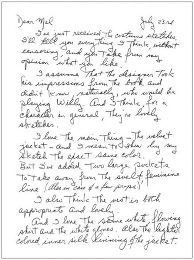 Gene Wilder's Letter To The Director Of Willy Wonka Is Truly Special (5 pics)