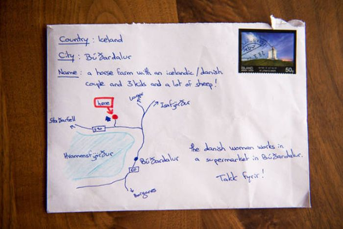Man Finds Way To Send Letter Without Knowing The Address (2 pics)