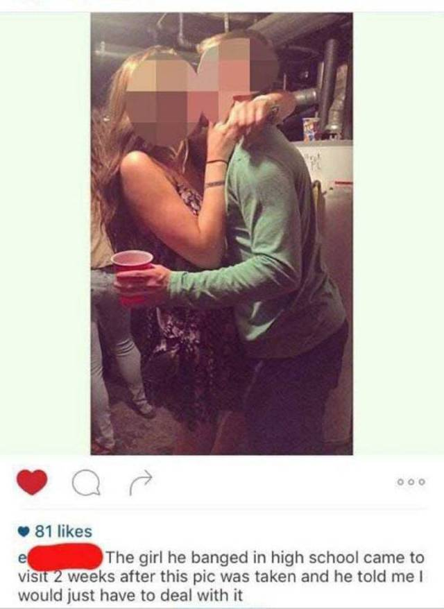 Girl Changes All Her Instagram Pics After Finding Out Her Boyfriend Cheated (9 pics)