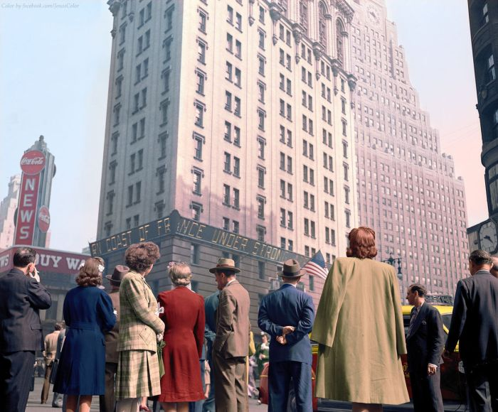 Gorgeous Color Photos From Inside History's Vault (19 pics)