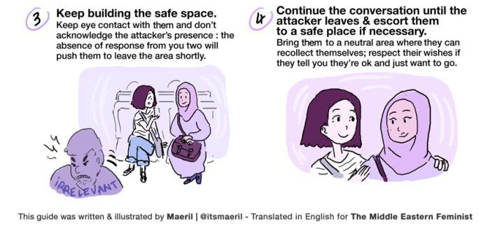Illustration Shows What To Do When You See Islamophobia (3 pics)