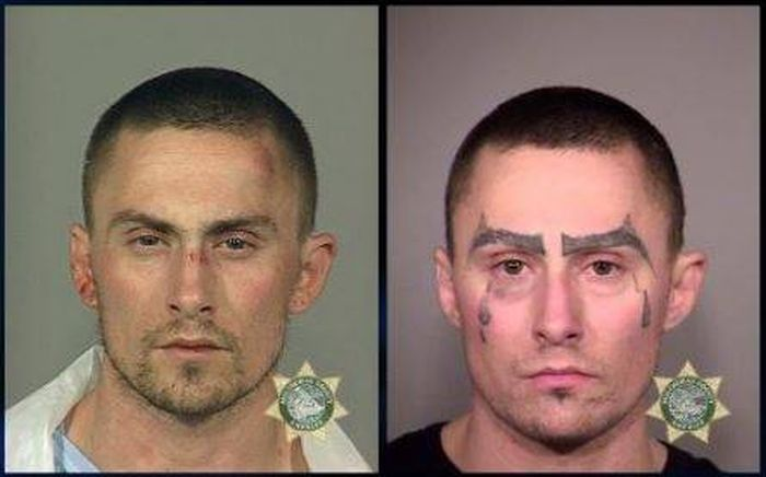 This Man's Many Mugshots Show His Downward Spiral (4 pics)