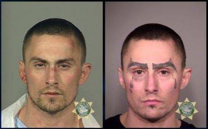 This Man's Many Mugshots Show His Downward Spiral (4 pics)