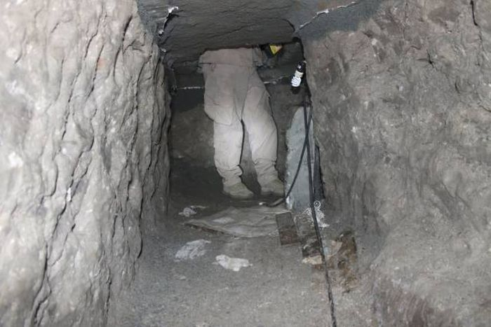 An Inside Look At The Illegal Tunnel System Between The US-Mexico Border (30 pics)