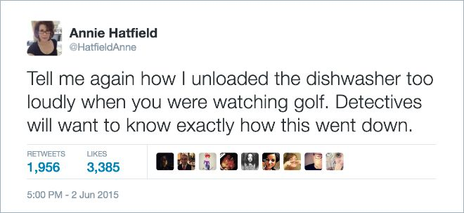 Wives Share Brutal And Hilarious Tweets About Marriage (18 pics)