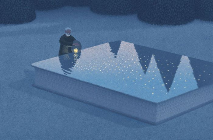 Surreal Illustrations Of Books By Korean Artist Jungho Lee (20 pics)