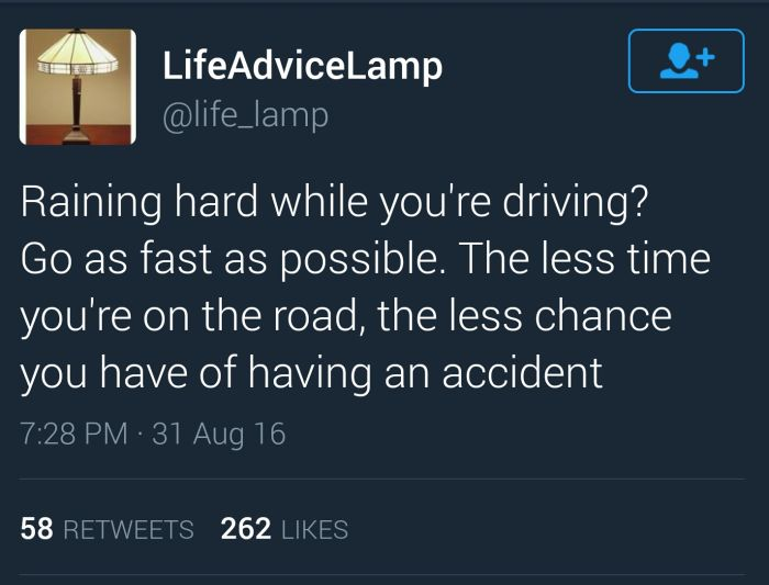 Excellent Life Advice From Life Advice Lamp (11 pics)