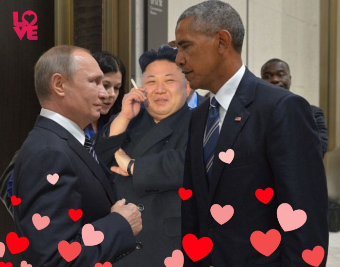 Obama And Putin Inspire Photoshop Battle After Stare Down At G-20 Summit Battle (17 pics)