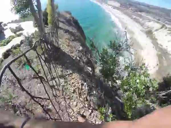 Close Call Scarry El Morro Cliff Jump