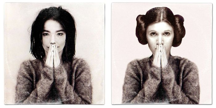 Famous Album Covers Get The Star Wars Treatment (14 pics)