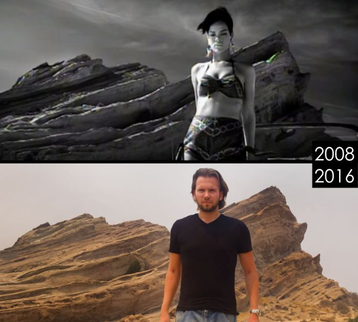 Locations From Famous Movies Then And Now (14 pics)