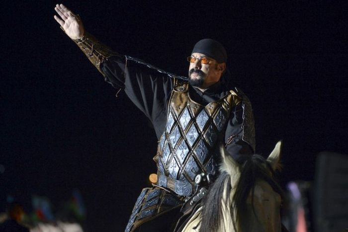 Steven Seagal Attends World Nomad Games In Kyrgyzstan (30 pics)