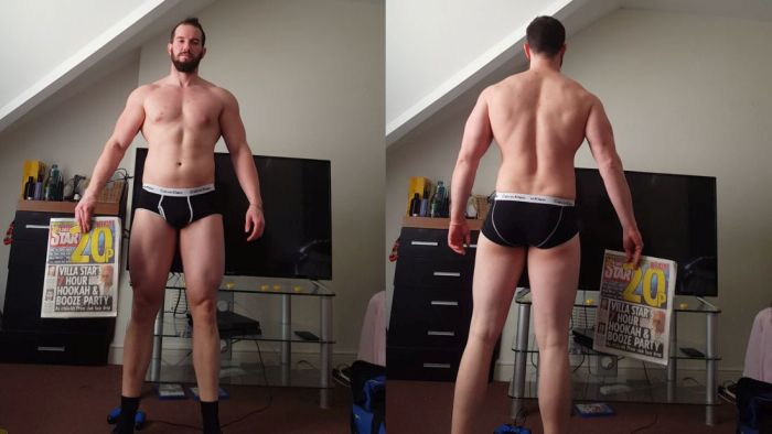 Guy Completely Transforms His Body In 15 Weeks (15 pics)