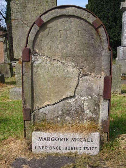 The Story Of The Woman Who Lived Once, But Was Buried Twice (4 pics)