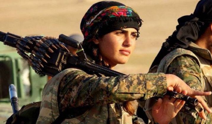Kurdish Angelina Jolie Loses Her Life While Fighting ISIS (3 pics)