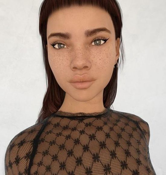 Instagram Model Makes Her Followers Wonder If She's Real Or A Sim (14 pics)