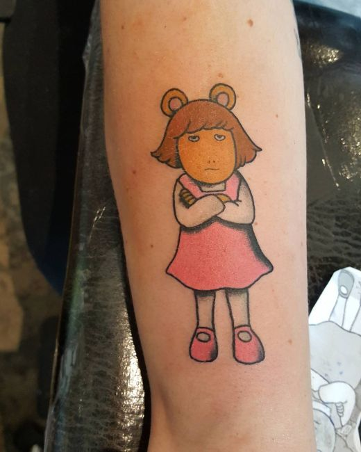 Cartoon Characters Tattoos : Awesome tattoos of cool cartoon characters pics