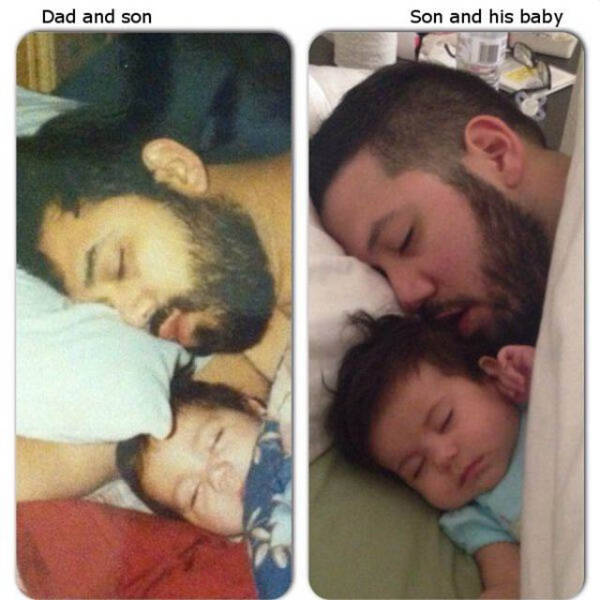 Parents Who Share An Uncanny Resemblance With Their Kids (30 pics)