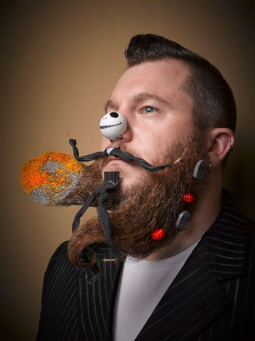 The Best Of The Best From The 2016 National Beard And Moustache Championships (18 pics)