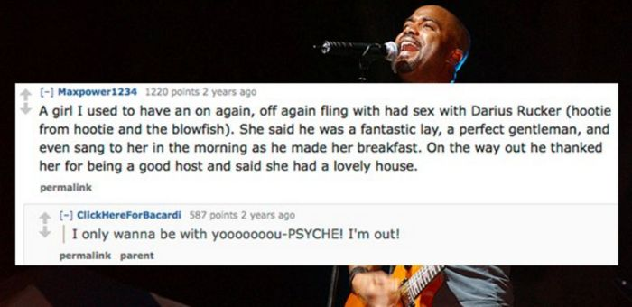 Groupies Share Their Celebrity Sex Stories (14 pics)