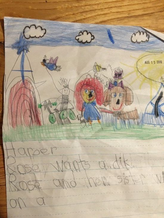 Children's Notes And Drawings That Will Crack You Up (28 pics)