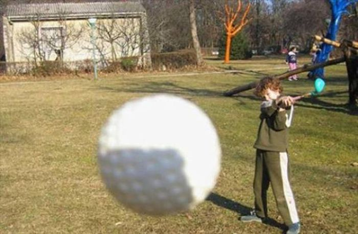 Classic Photos Taken One Second Before Everything Came Crashing Down (44 pics)