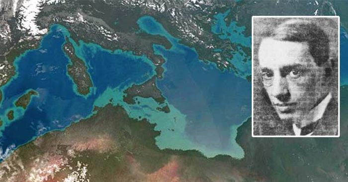 Back In The 1920's A Scientist Came Up With A Plan To Drain The Mediterranean Sea (4 pics)