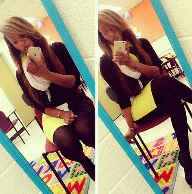 This Teacher Is Getting Shamed For What She Wears In Class (14 pics)