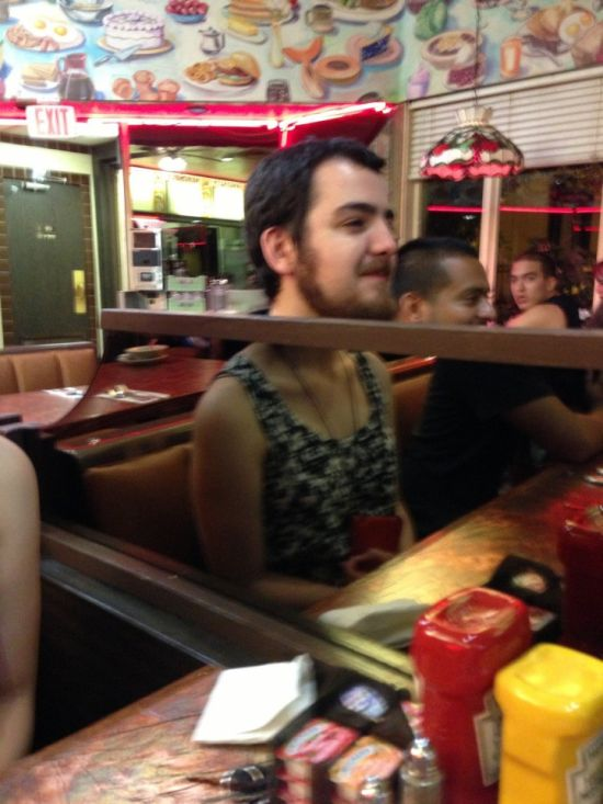 This Is Why You Should Never Take Pictures Near Refelective Surfaces (17 pics)