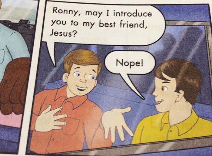 The Most Hilarious Things Students Have Ever Found In Textbooks (30 pics)