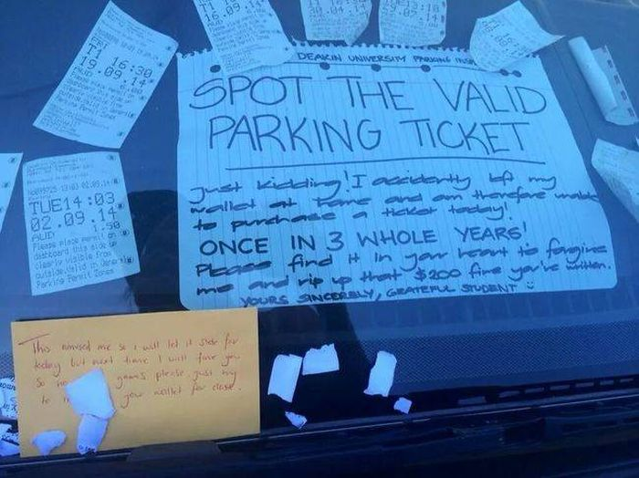 Hilariously Aggressive Windshield Notes You Should Totally Use (18 pics)