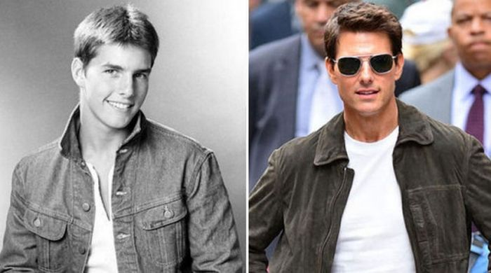 How Celebs Looked Then Compared To How They Look Now (15 pics)