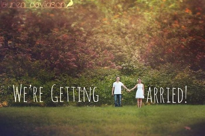 Clever Engagement Photos Are The Best Way To Announce A Wedding (15 pics)