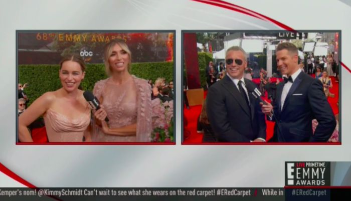 Matt LeBlanc Made An Awkward Joke About Emilia Clarke At The Emmys (3 pics)