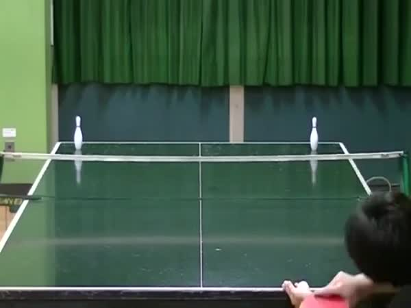 Amazing Ping Pong Trick Shots 2016